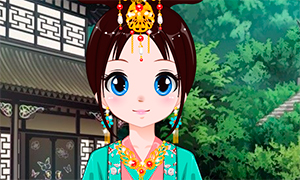 Игра для девочек: Аватар в стиле китайской принцессы