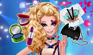 Игра для девочек: Рок мода