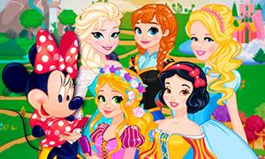 Игра для девочек: Экскурсия по миру Дисней Принцесс