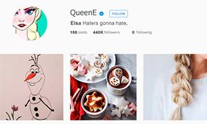 Если бы у Дисней Принцесс был Instagram