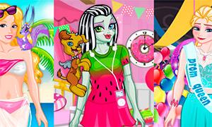 Игра мода для всех: Винкс, Барби, Принцесс и Монстер Хай