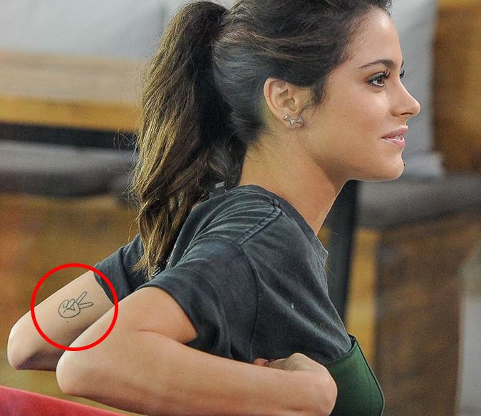 Татуировка Мартины Штоссель, которую она не любит