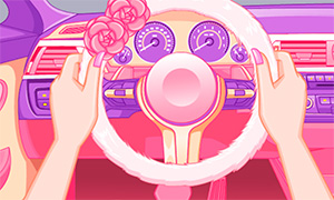 Игра для девочек: Укрась салон и панель автомобиля