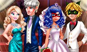 Игра: Королевские гости на свадьбе Леди Баг и Супер Кота