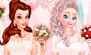 Игра: Свадебный салон Дисней Принцесс