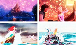 Дисней Принцессы: Концепт арты и мультфильмы