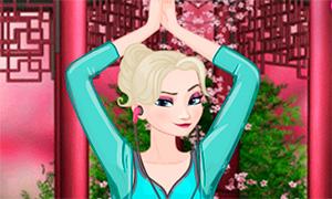 Игра для девочек: Дисней Принцессы и йога