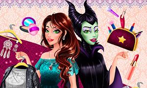 Игра для девочек: Современное преображение Малефисенты