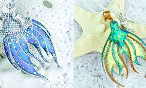 Оригинальное украшение на лето - подвеска в виде хвоста русалки