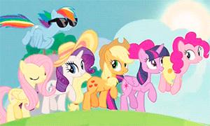 Пони: Дружба сквозь сезоны в гифках