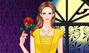 Игра: Одевалка в стиле Красавицы и Чудовища
