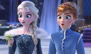 Скорее смотри трейлер новой короткометражки по Холодному Сердцу - Olaf's Frozen Adventure!