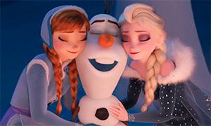 Анимации и картинки с Эльзой и Анной: Холодное Сердце 2017