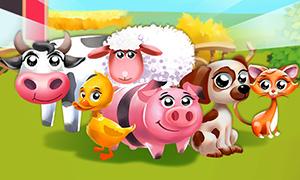 Игра для детей: Учимся с домашними животными