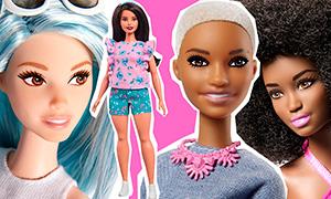 Куклы Барби: Новые Fashionistas 2017