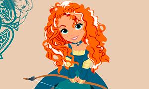 Маленькие Дисней Принцессы в красочных иллюстрациях