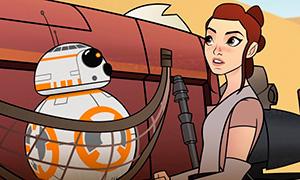 Первый трейлер анимационного сериала