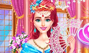 Игра: Принцесса и шесть нарядов для бала