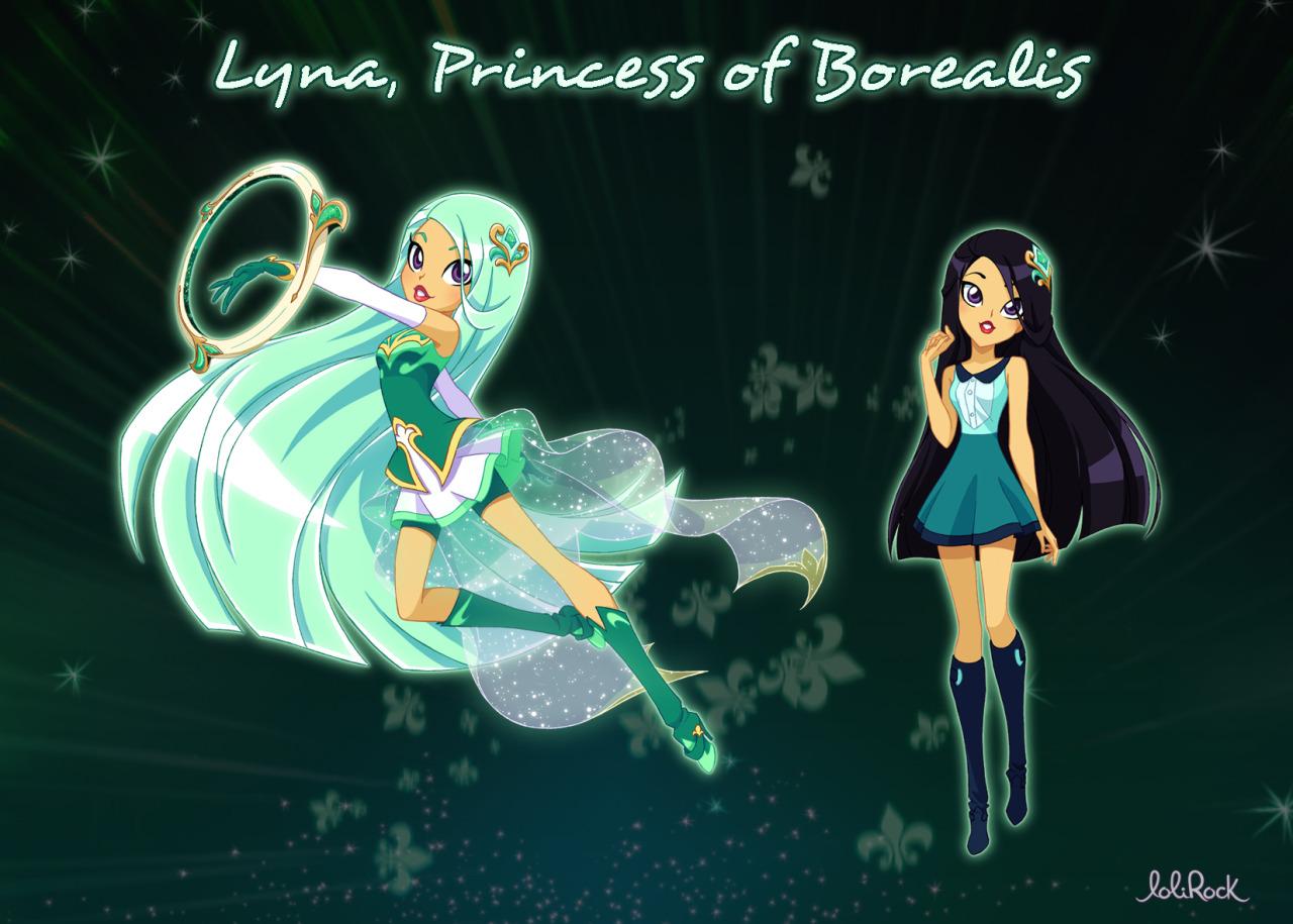 лолирок как были придуманы принцесса карисса и лина