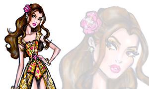 Летние дизайнерские наряды Дисней Принцесс