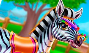 Игра: Уход за зеброй