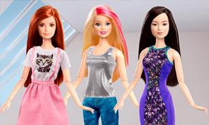 Игра: Наряди Барби Fashionistas