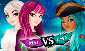 Игра Наследники 2: Мэл против Умы