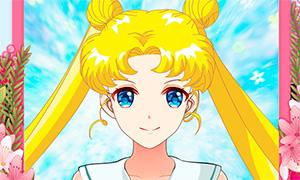 Игра: Создай свои аватар в стиле аниме персонажей