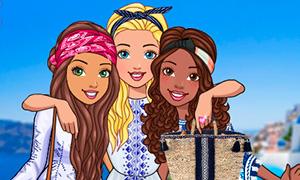 Игра: Барби в Греции