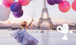 Шедевры фотографии: Когда платье идеально сочетается с фоном