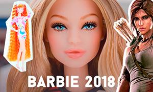 Громкие новинки Барби 2018: Барби Джиджи Хадид, Лара Крофт, рыжеволосая Totally Hair и другие