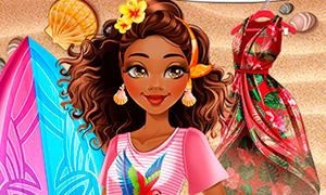Игра для девочек: Работа мечты Моаны