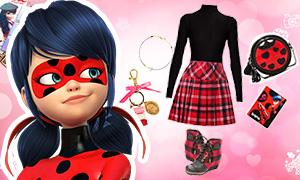 Как одеваться в стиле Леди Баг и Маринет