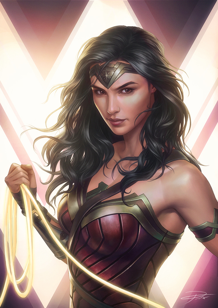 Галь Гадот Супер Женщина