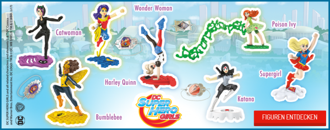 Киндер Сюрприз DC Super Hero Girls