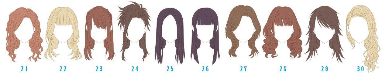 Прически длинные волосы по картинкам