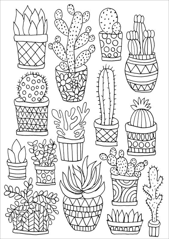 Aesthetic Free Coloring Pages