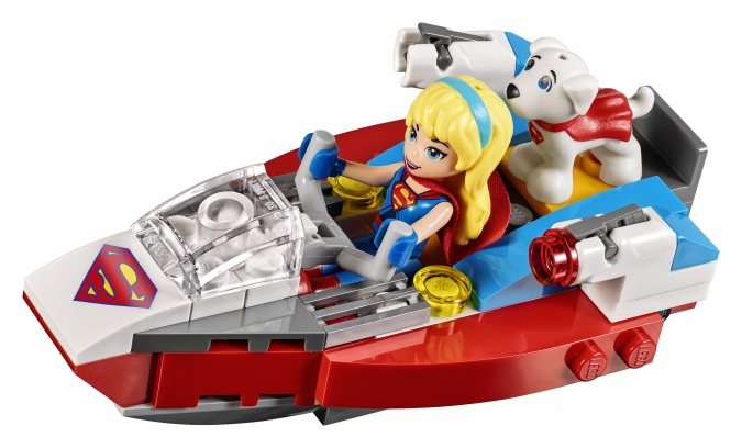 набор LEGO DC Super Hero Girls «Фабрика Криптомитов Лены Лютор»