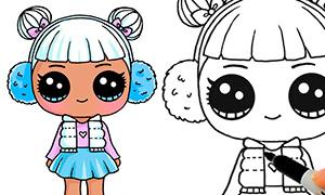 Раскраски куклы ЛОЛ и питомцы ЛОЛ сюрприз распечатать