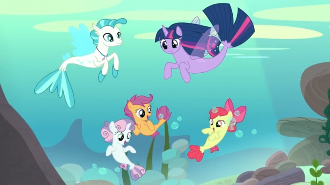 My Little Pony 8 сезон пони русалки