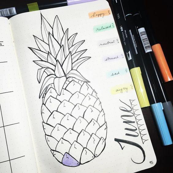 Идеи для оформления личного дневника: Дневник настроений