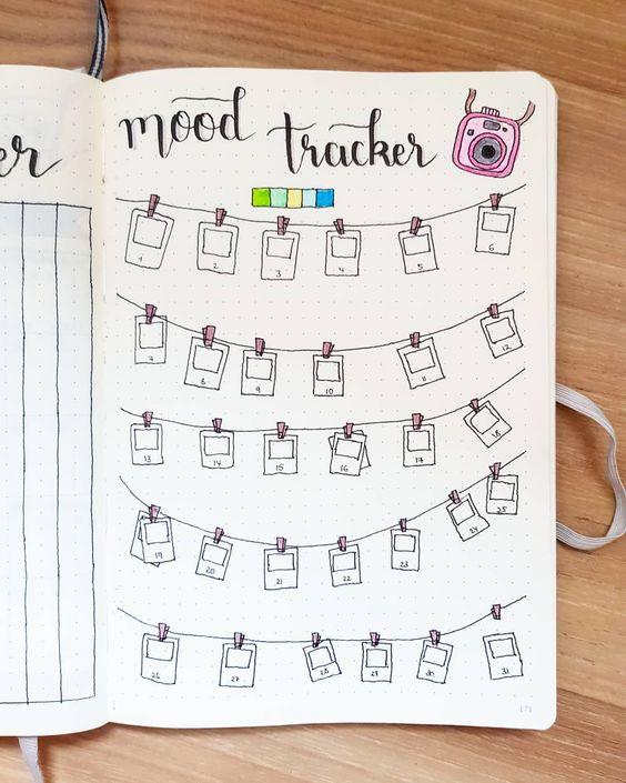 Идеи для ежедневника дневник настроений фото карточки