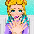 Игра для девочек: Молодежный салон красоты
