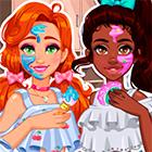 Игра: Салон красоты для двух подружек