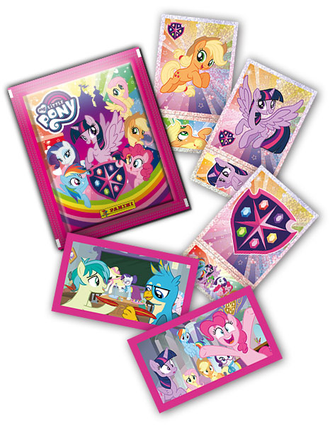 Наклейки Panini MY LITTLE PONY 'School of Friendship'
