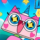 Игра для девочек: Юникитти и сверкающий бластер