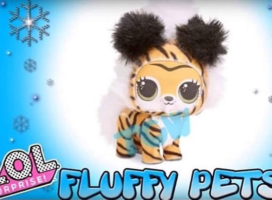 Winter Disco Fluffy Pets Mystery Pack