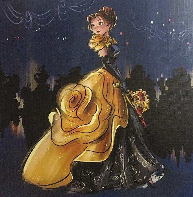 Картинки Дисней Принцесс в бальных платьях из коллекции ...