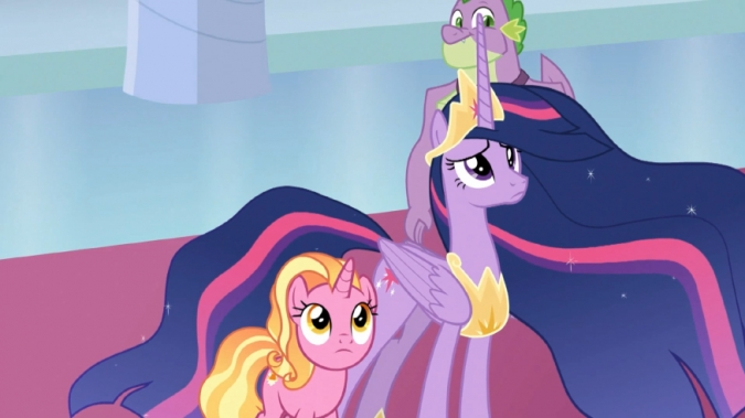 Спойлер! Картинки из финальной 26 серии 9 сезона Пони ...