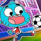 Игра: Футбол с Гамболом, Финном, Бен10 и другими героями мультфильмов